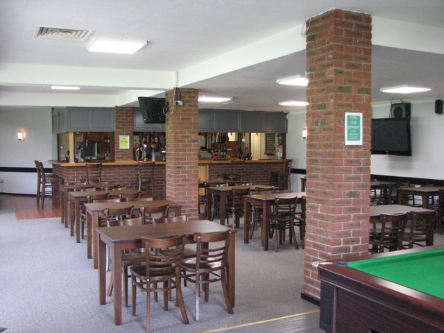 Lounge in the bar area, refurbished in 2016
